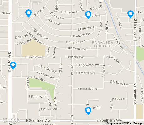 map of Summer Place Village apartments for rent