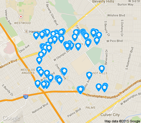 Cheviot Hills Los Angeles Apartments for Rent and Rentals - Walk Score