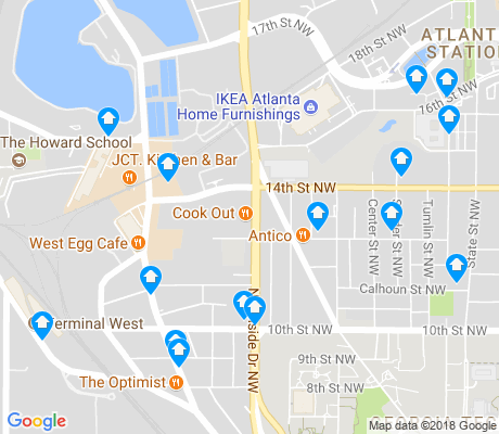 map of Home Park apartments for rent