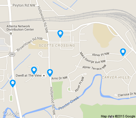 map of Scotts Crossing apartments for rent