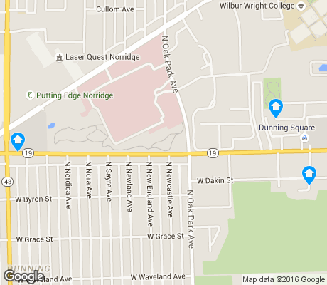 map of Dunning apartments for rent