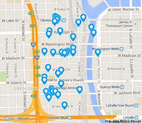 Chicago map loop pdf