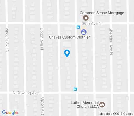 map of Victory apartments for rent
