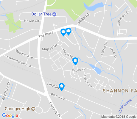 Shannon park charlotte apartments for rent and rentals walk score for Shamrock garden apartments charlotte nc