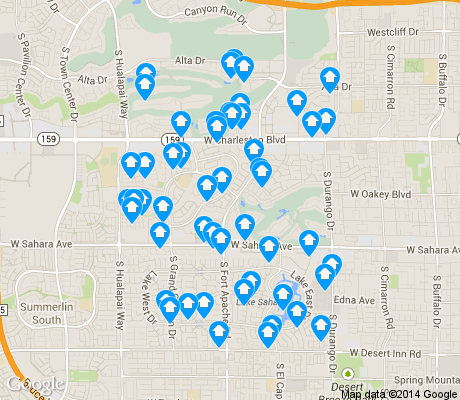 map of The Lakes apartments for rent