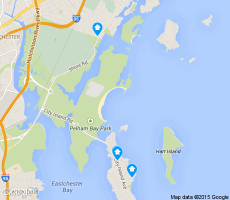 map of Pelham Bay Park apartments for rent