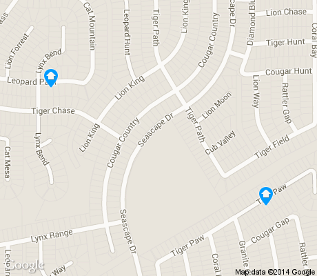 map of Sierra Springs apartments for rent