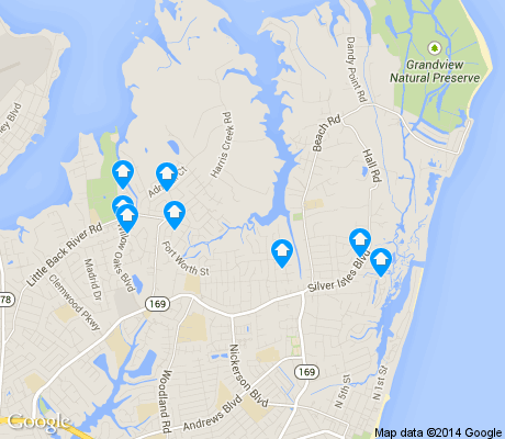 map of Foxhill apartments for rent