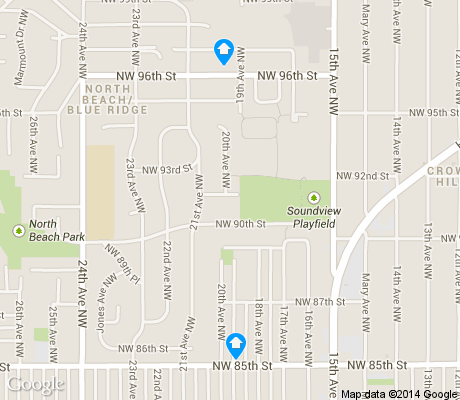 map of Olympic Manor apartments for rent