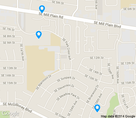 map of Cascade Highlands apartments for rent