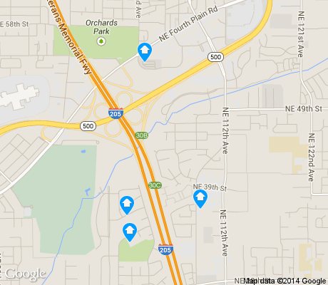 map of Kevanna Park apartments for rent