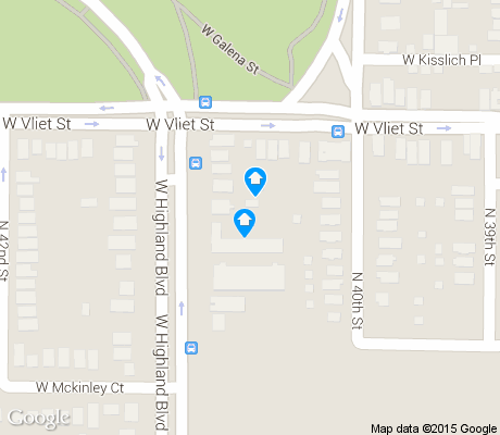 map of Martin Drive apartments for rent