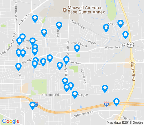 map of 36109 apartments for rent