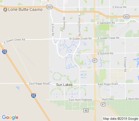 map of Balboa Way apartments for rent