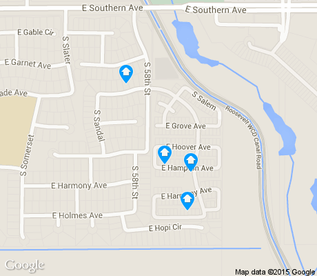 map of Stonegate Estates apartments for rent