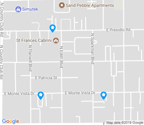 map of Cabrini apartments for rent