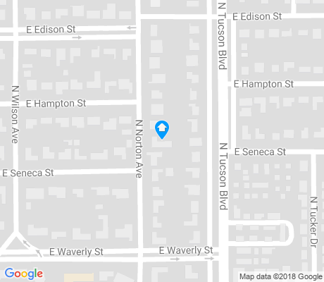 map of Catalina Vista apartments for rent