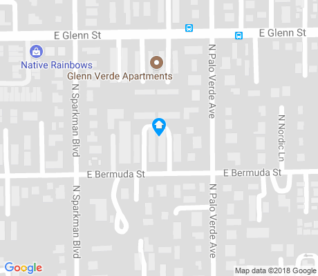 map of Doolen-Fruitvale apartments for rent