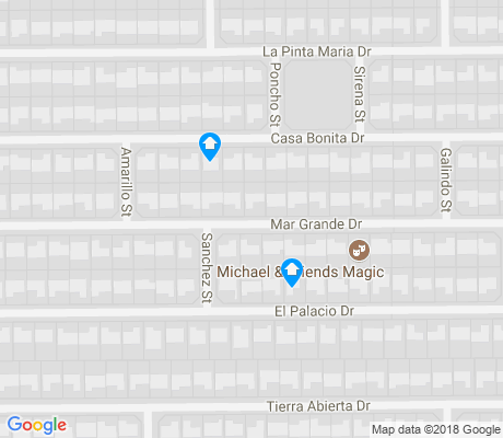 map of Tyner Homes apartments for rent