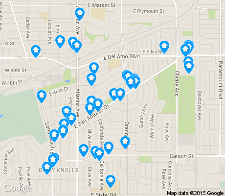 map of Bixby Area apartments for rent