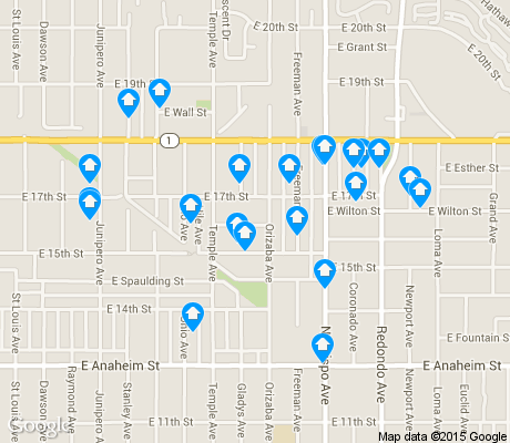 map of Zaferia apartments for rent