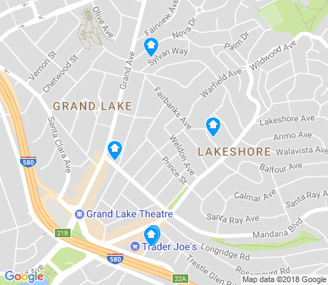 map of Lakeshore apartments for rent