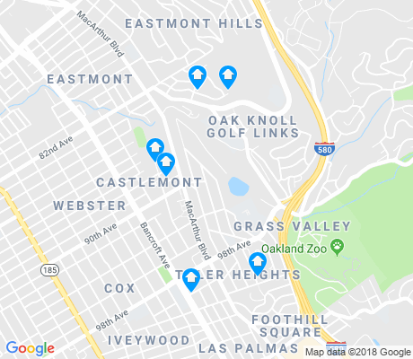 map of Toler Heights apartments for rent