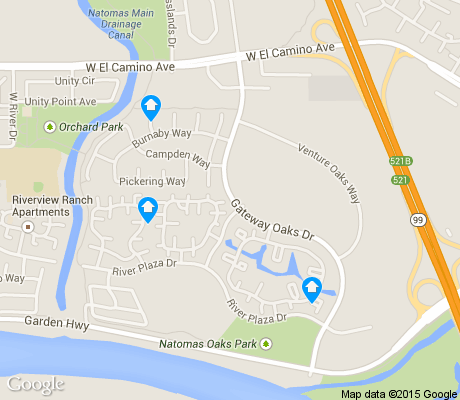 map of Gateway Center apartments for rent