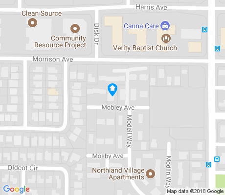 map of Oak Knoll apartments for rent