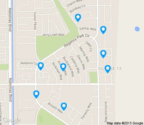 map of Village 12 apartments for rent