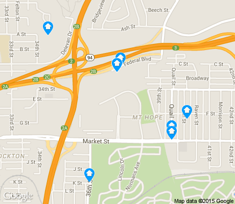 map of Mt. Hope apartments for rent