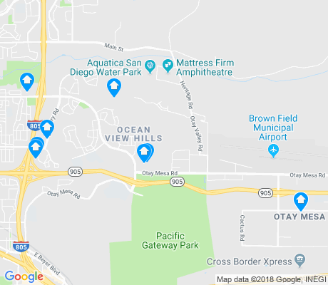 map of Otay Mesa apartments for rent
