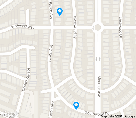 map of Mount Davidson Manor apartments for rent