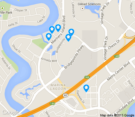 map of Mariners Island apartments for rent