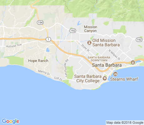 map of Bel Air apartments for rent