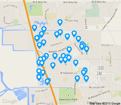 map of Creekside / Wagner apartments for rent