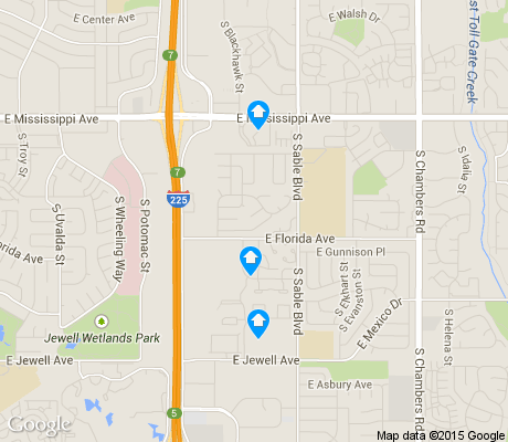 map of SableRidge apartments for rent