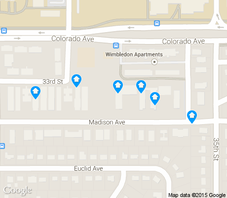 map of East Aurora apartments for rent