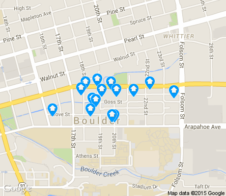 map of Goss Grove apartments for rent