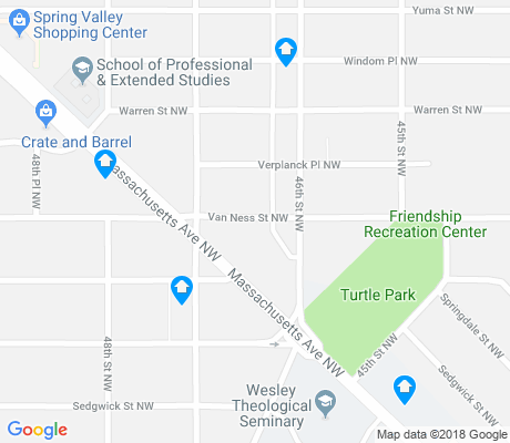 map of Spring Valley apartments for rent