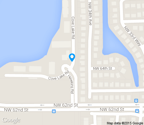 map of Palm Aire Village (WEST) apartments for rent