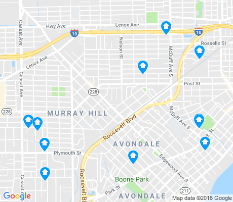 map of Murray Hill apartments for rent