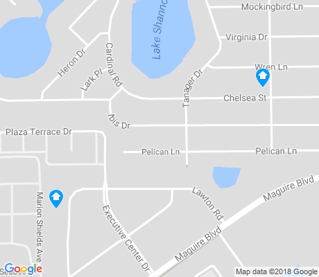 map of Audubon Park apartments for rent