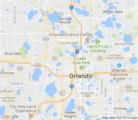 map of Lake Dot apartments for rent