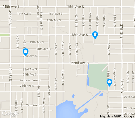map of Twinbrooks apartments for rent