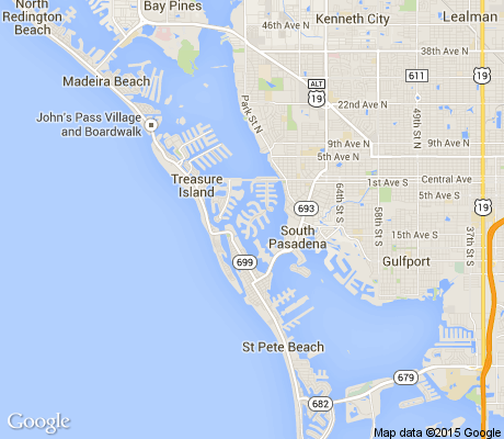 map of Yacht Club Estates apartments for rent