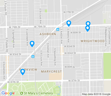 map of Ashburn apartments for rent