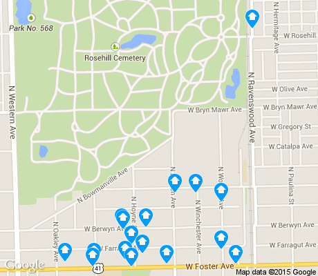 map of Bowmanville apartments for rent