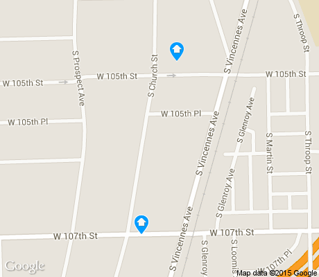 map of East Beverly apartments for rent
