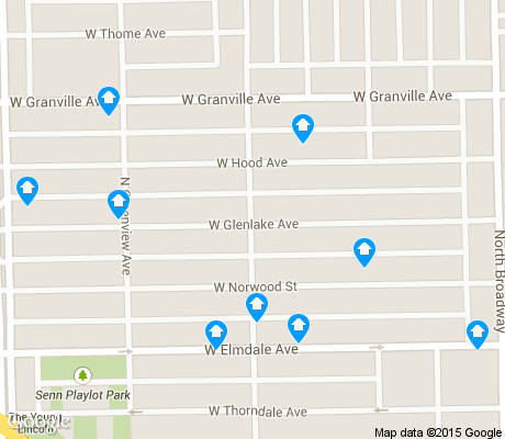 map of Edgewater Glen apartments for rent